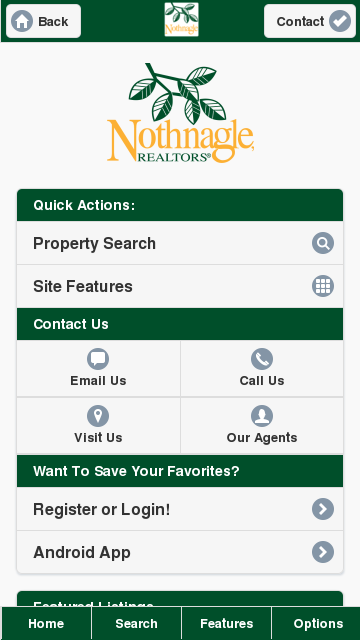 Nothnagle Realtors Mobile - screenshot