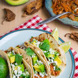 Pork Tinga Tacos.