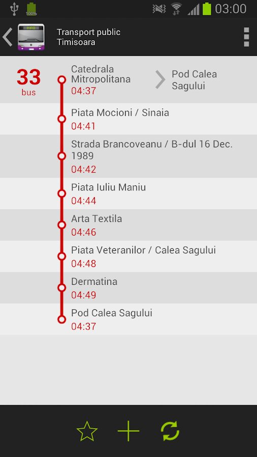Public Transport - Timisoara- screenshot