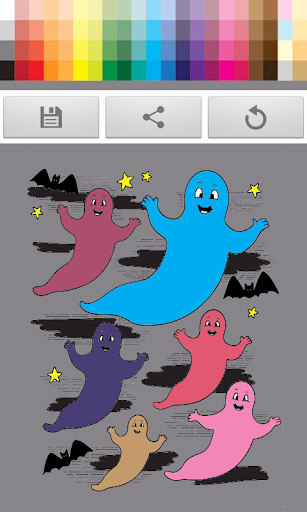 KIDS GHOST GAME DRAWING