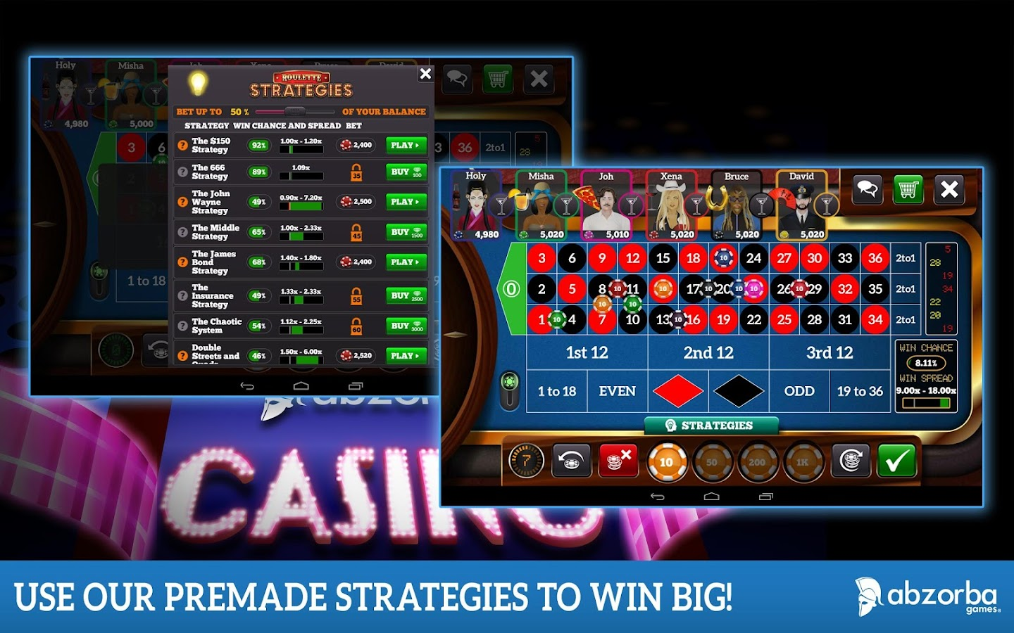 Roulette Live - screenshot