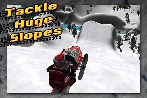 ArcticFury Off-Road Snowmobile