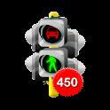 450 câu lý thuyết sát hạch ôtô icon