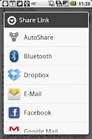Screenshot of AutoShare