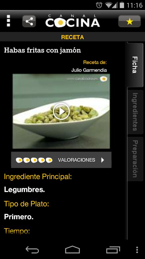 Canal cocina aplicaciones de android en google play for Canal cocina cocina de familia