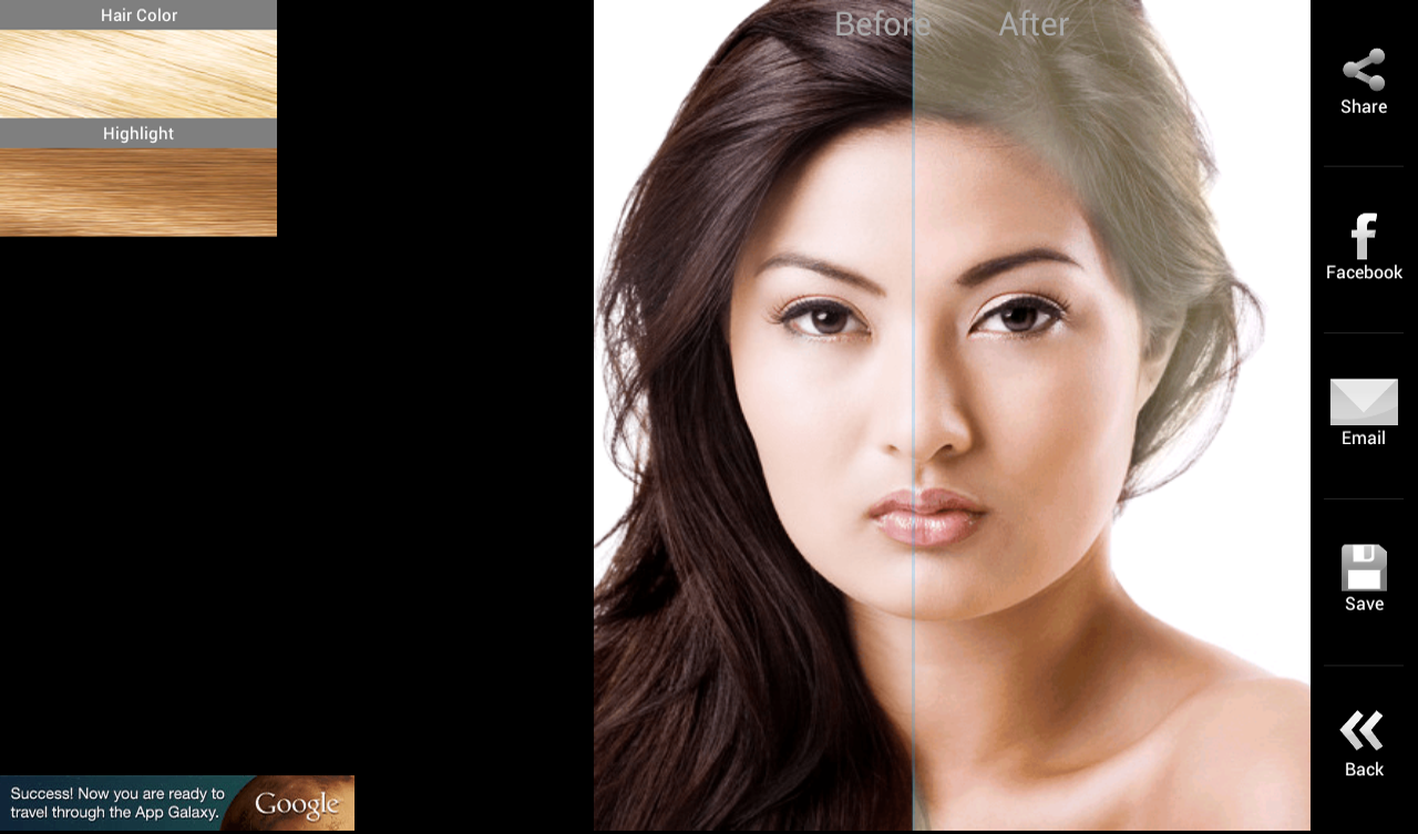 Swell Hair Color Android Apps On Google Play Short Hairstyles Gunalazisus