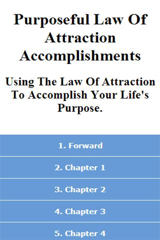 Purposeful Law Of Attraction
