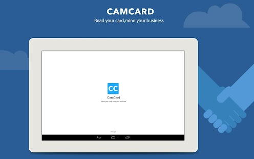 CamCard - Business Card Reader: miniatura da captura de tela