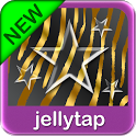 GO SMS Gold Theme Zebra Star icon