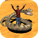 Snake Attack 3D Simulator mobile app icon