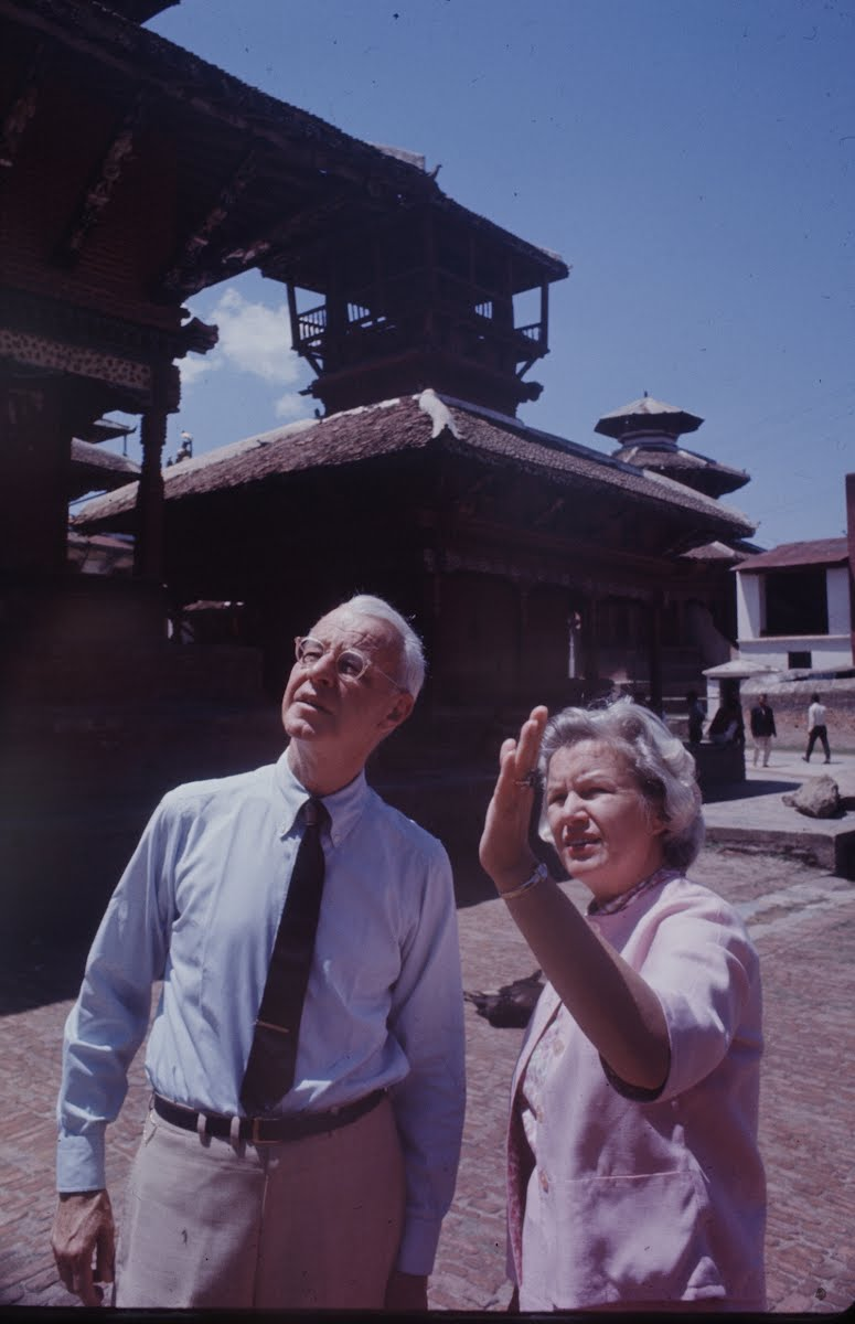 Ambassador Bunker And Wife