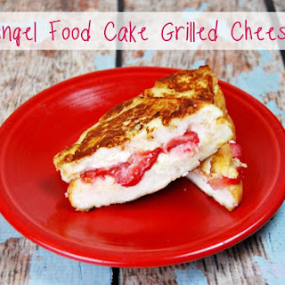 Angel Food Cake Grilled Cheese.