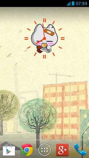 Badkuma : Clock widget 1