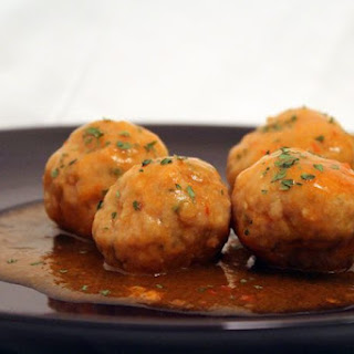 Chicken Meatballs.