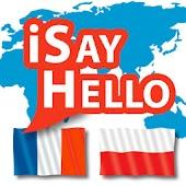 iSayHello French - Polish