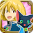 クイズRPG 魔法使いと黒猫のウィズ logo