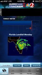 Hurricane Tracker WESH 2 - screenshot thumbnail