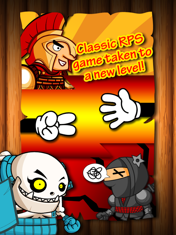 Super Battle - Classic RPS- screenshot
