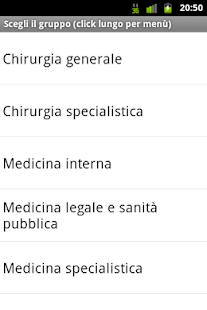 Esame Abilitazione Medicina - screenshot thumbnail