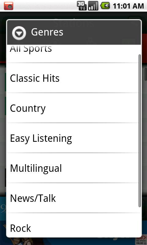 Rogers Radio - screenshot
