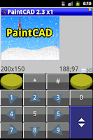 Screenshot of PaintCAD donate version