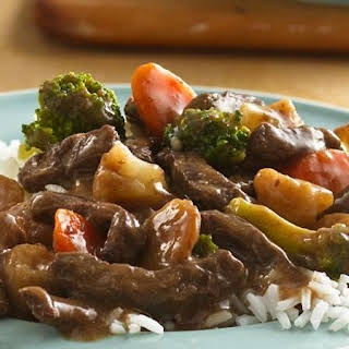 Slow-Cooker Teriyaki Beef and Vegetables.