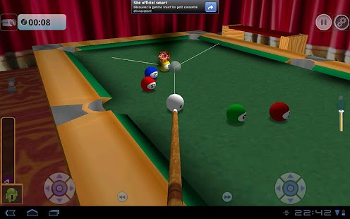 DroidPool 3D - screenshot thumbnail