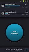 Screenshot of SD Card Cleaner