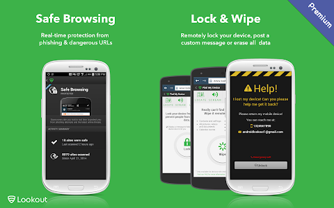 Lookout Security & Antivirus v8.32