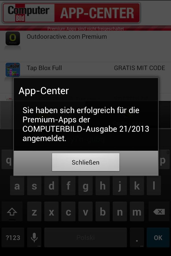 COMPUTERBILD App-Center - screenshot