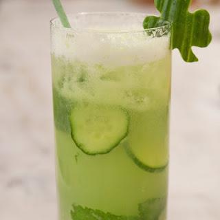 Honeydew-Cucumber Mojito