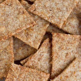 Homemade Wheat Thins.