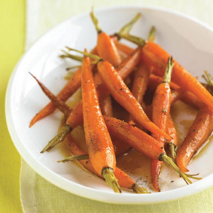 Orange-Roasted Baby Carrots with Honey Recipe