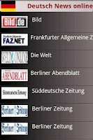 Screenshot of Deutsch News in App free