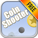 Shoot, shoot, shoot the coin icon