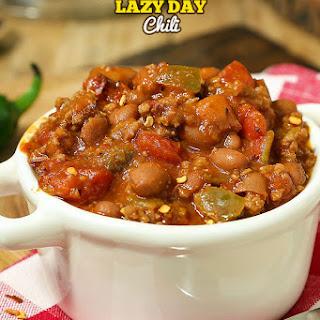 5 Ingredient Lazy Day Chili.