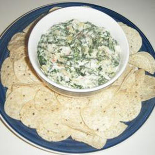 Best Ever Spinach Artichoke Dip.