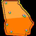 Georgia Fishing Maps – 14K logo