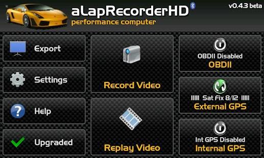 aLapRecorder HD- screenshot thumbnail