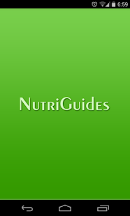 NutriGuides Mobile- screenshot thumbnail