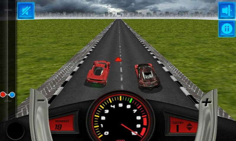 3D Drag Race - screenshot