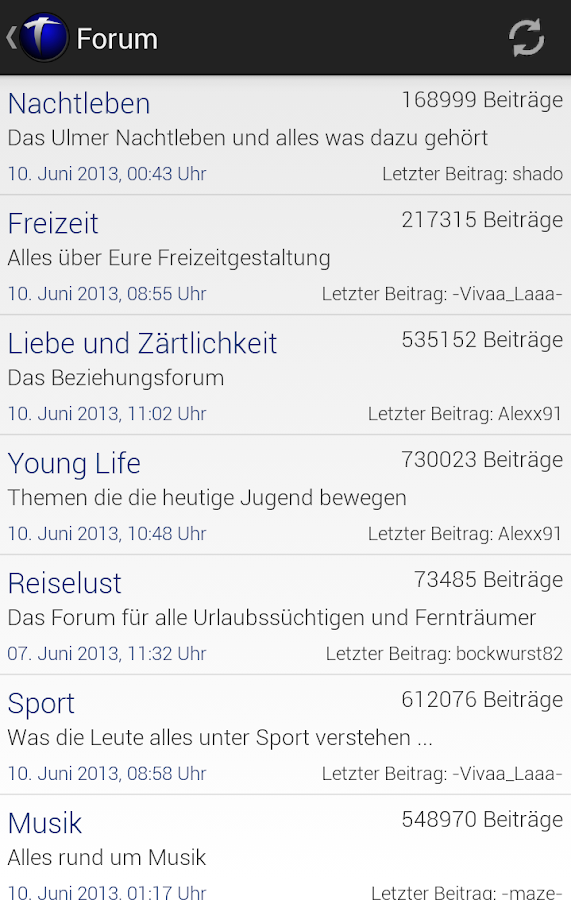 Team-Ulm.de- screenshot