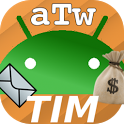 AndroTimWidget Lite via sms icon