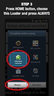Jelly Bean Launcher Loader- screenshot thumbnail