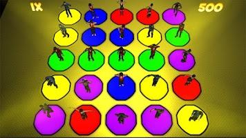 Screenshot of Space Dance Crazy Move