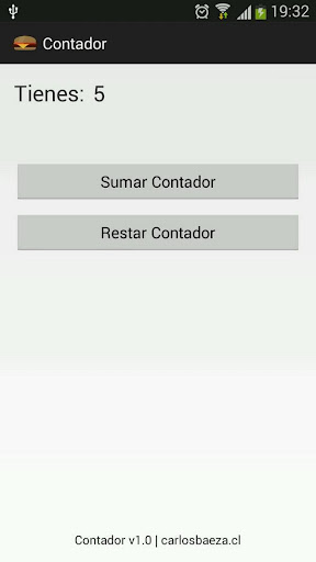 Contador Restador