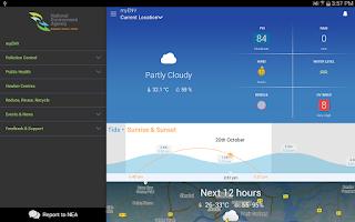 Screenshot of myENV