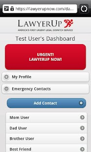 LawyerUp - screenshot thumbnail