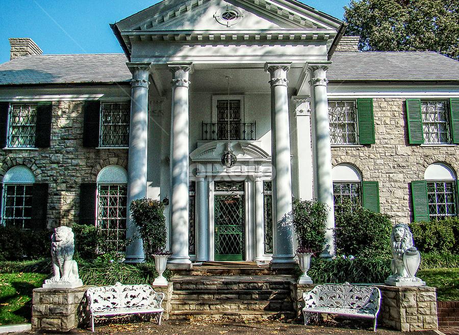 graceland by Lennie L. - Buildings & Architecture Public & Historical