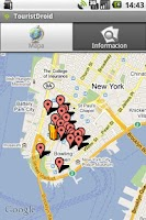 Screenshot of TouristDroid